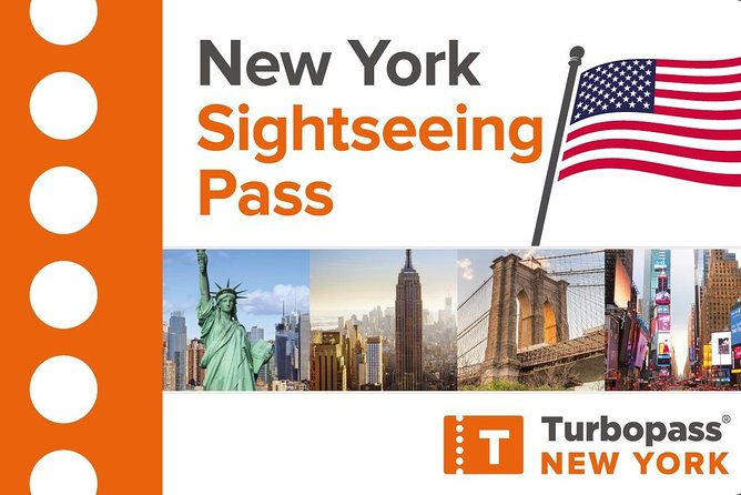 New York Sightseeing Pass - Free entries & unlimited Hop-on-Hop-off