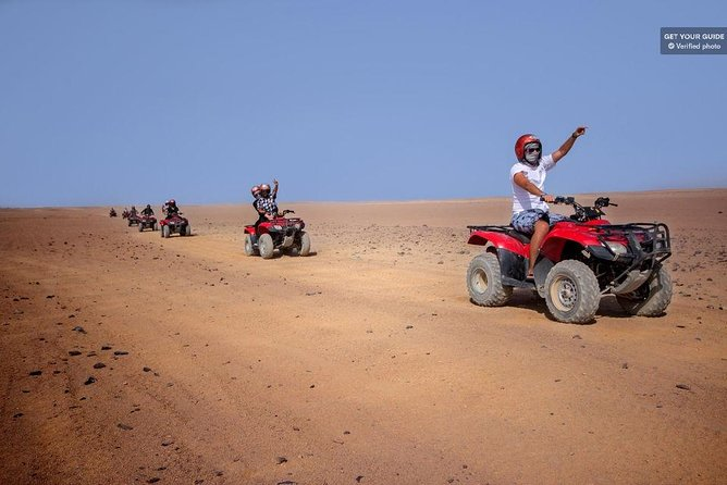 Hurghada: Sunset Desert Safari by Quad Runner & Camel Ride photo 1