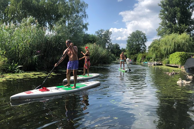 Stand Up Paddling Tour in the Karl Heine Canal