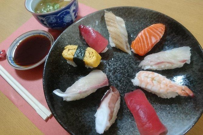 Enjoy a Basic Sushi Making Class