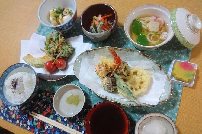 Cours de cuisine authentique TEMPURA Course