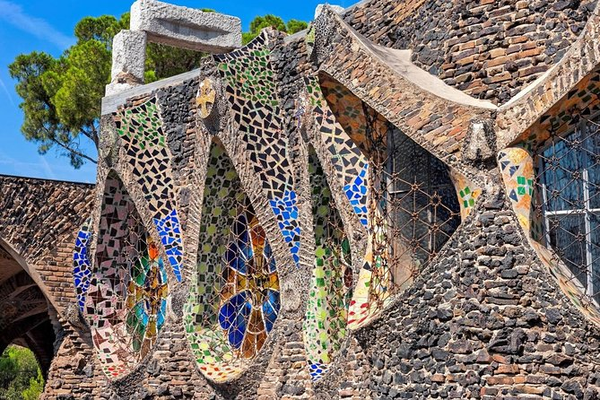Skip the Line: Audio guide visit Gaudí Crypt and Colònia Güell Ticket