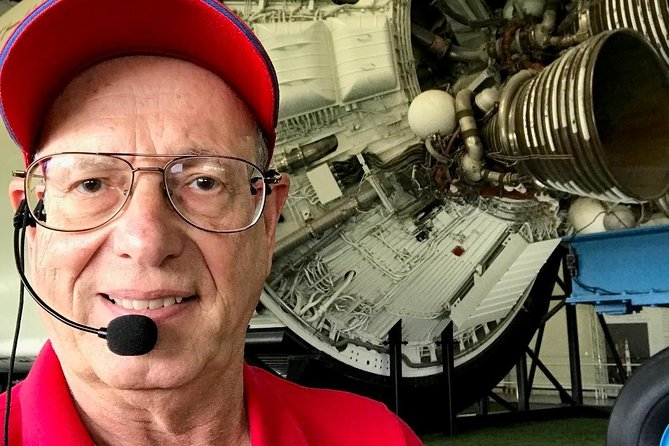 Your tour of the Space Center Houston will be guided by a real rocket scientist.