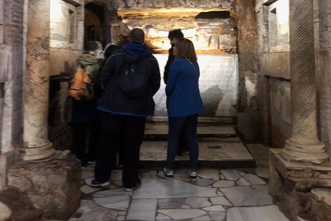 Underground Rome, Catacombs and Roman Castles from the port of Civitavecchia
