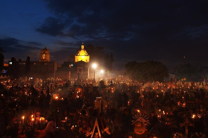 Mixquic Day of the Dead Celebration from Mexico City