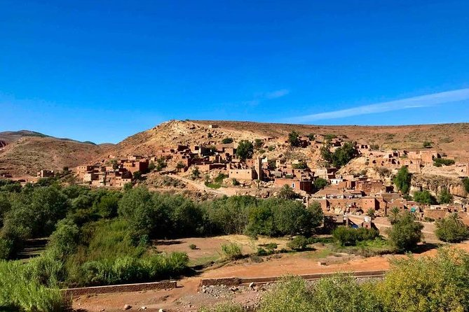 Agafay Desert Day Tour From Marrakech & Berber villages With Camel Ride