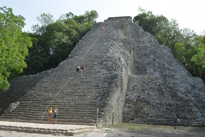 4x1 attractions on the same day: Tulum, Cobá, Cenote and Playa del Carmen Classic