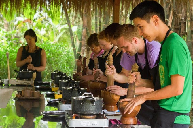 Khmer Cooking Class at Champey