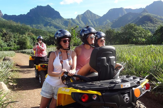 Small Quad Tour 2h30 Quad excursion in Moorea (single or two-seater)