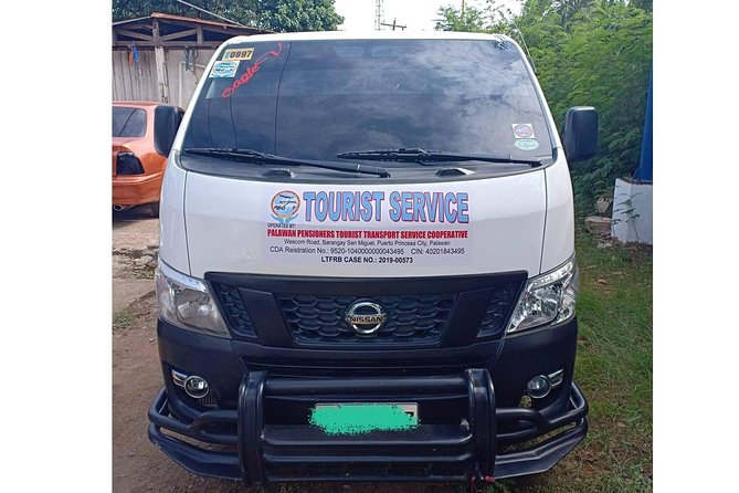 Private Van Transfer: One way Puerto Princesa to El Nido