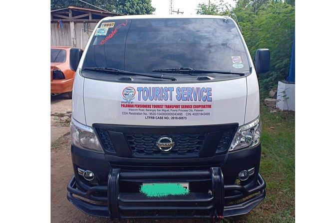Private Van Transfer: One way El Nido to Puerto Princesa