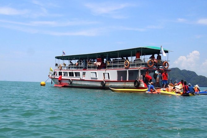 Phang Nga Sea Canoe by Big Boat Tours with Lunch