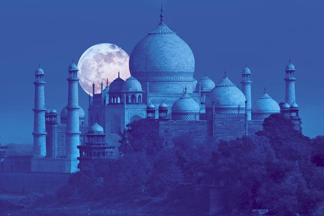 Taj Mahal & Agra Fort with High Tea at Skydeck viewing Taj Mahal