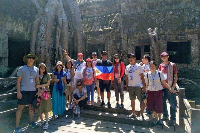 Angkor Wat Small Circuit - Sunrise -Angkor Wat,Bayon & Ta Prohm temple