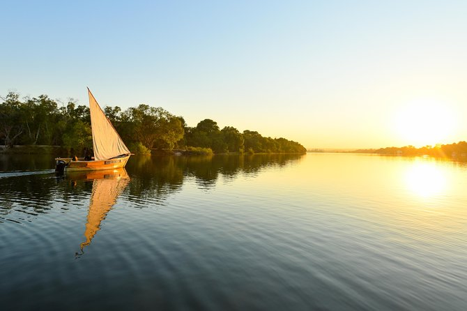 Dhow voyage on the Zambezi River
