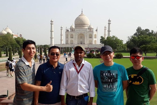 Day tour to Taj Mahal & Agra fort from Delhi,5 star hotel lunch included . photo 11