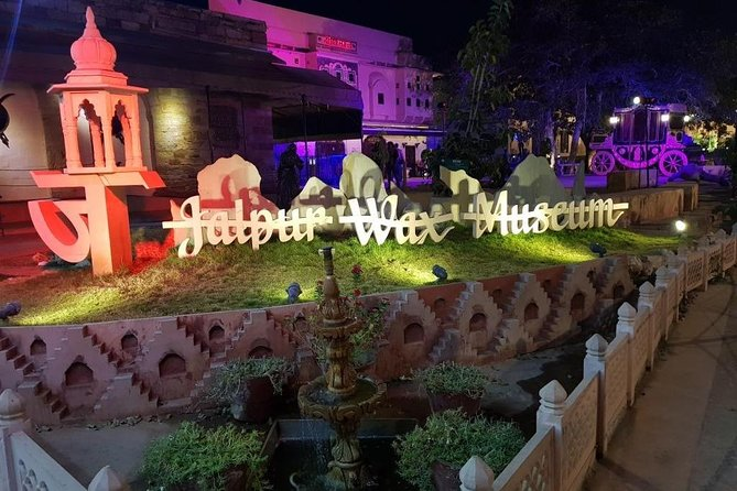 Jaipur wax museum / Sheesh Mahal