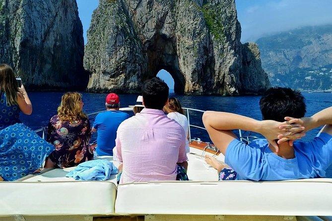 Capri Boat Tour From Castellammare di Stabia