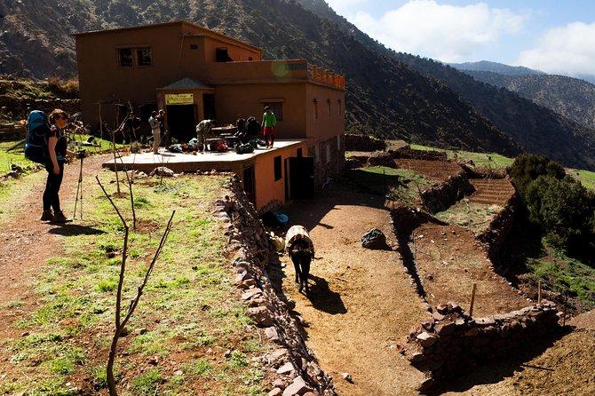 Tour of Toubkal via the Azzaden Valley 3 Days