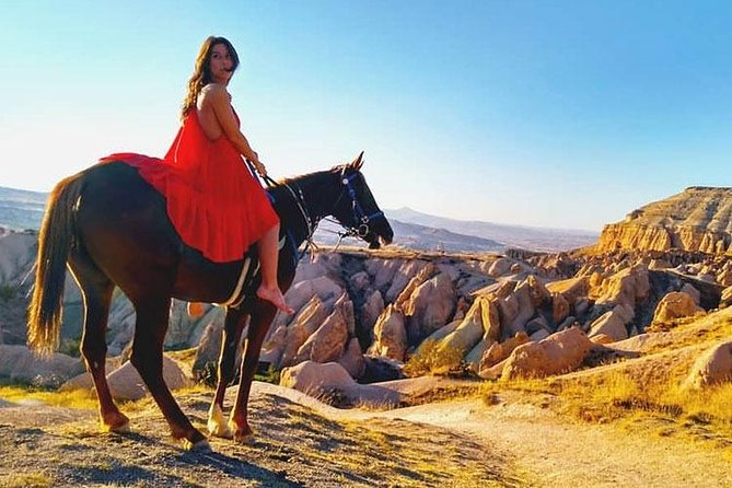 Cappadocia Valley Horse Riding - Half Day Tour 4 hrs
