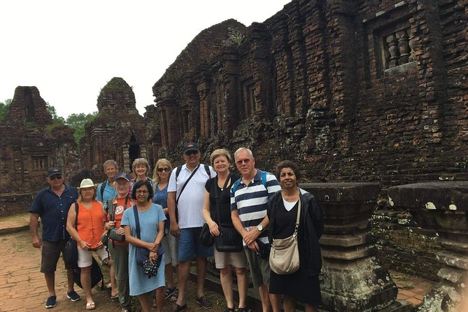 Private My Son Sanctuary and Marble Mountains tour with lunch