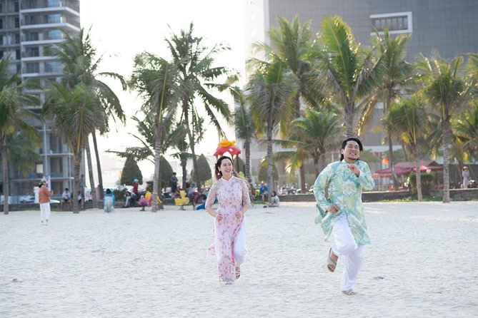 Ao Dai Photoshoot Half-day Tour in Da Nang City