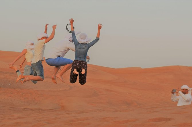 Private Desert Safari With Quad Bike Sand Boarding and BBQ Dinner photo 8