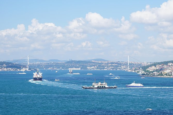 Half Day Morning Bosphorus Cruise & Spice Bazaar visit (Bus and Boat Tour)