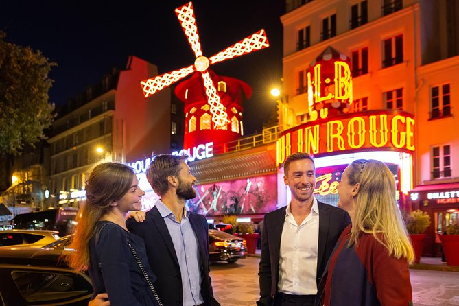 Jantar e show no Moulin Rouge de Paris com transporte