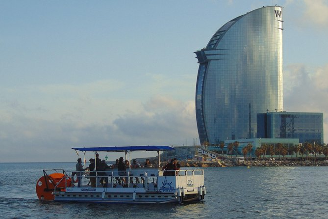 Private Boat rental - Pedal Cruises Barcelona - Cycle Boat