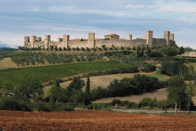Private Transfer: Ciampino Airport (CIA) to Monteriggioni or vice versa