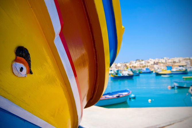 Blue Grotto and Marsaxlokk Half-Day Tour from Valletta