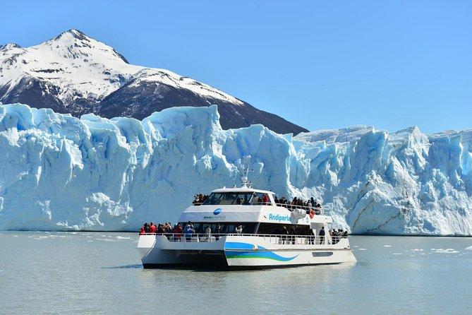 Pôr do sol no Lago Rico da geleira Perito Moreno com visita às passarelas