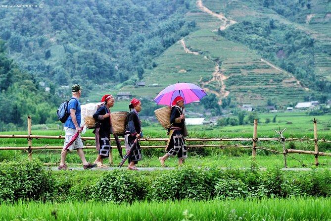 Red Dao village trek and Herbal bath