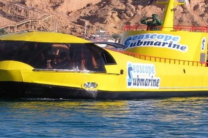 Hurghada: Sindbad Submarine 3-Hour Tour With Hotel Pickup