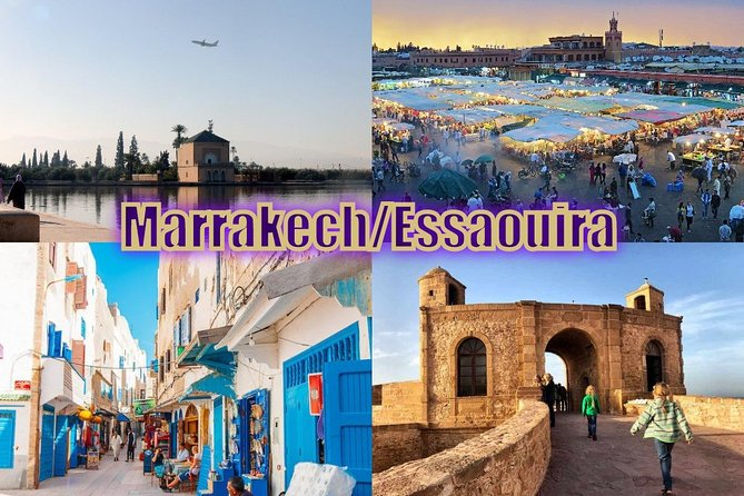 Agadir 2 Days Excursion to Essaouira and Marrakech