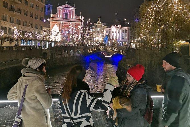 Explore Ljubljana by night with Ziva