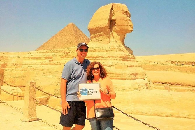 Giza Pyramids, Sakkara & Memphis Full Day Tour With Lunch & Camel Ride & Guide