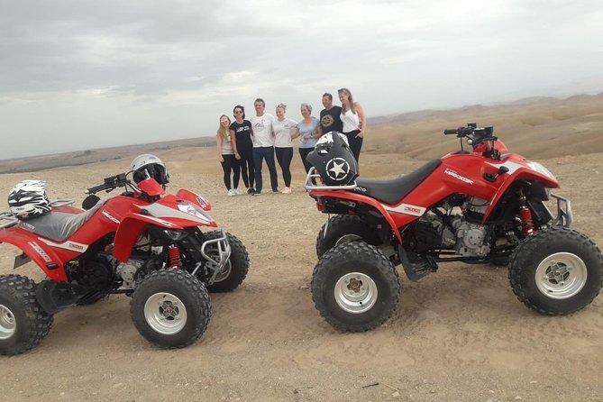 Agafay Half Day Rocky Desert Experience – Quad Bike & Camel Ride