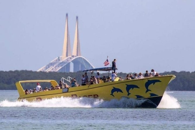 St. Pete Beach Dolphin Racer Speedboat Adventure