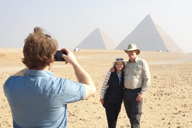 Giza pyramids and Old Cairo Day Tour