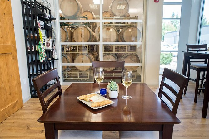 Wine Tasting, Winery Tour, Cheese Plate, Bottle of Wine