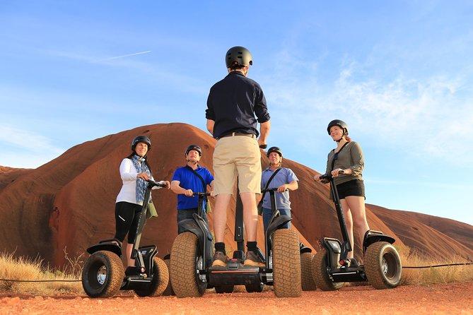 Segway the FULL base of Uluru - Sunrise, daytime or self drive options!