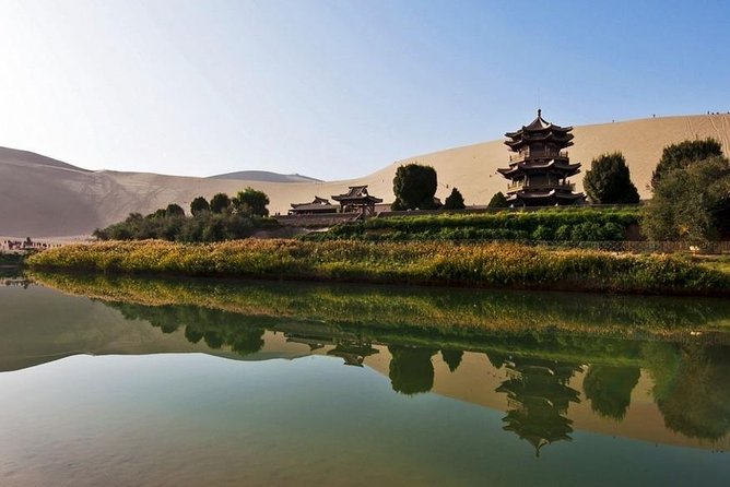 Dunhuang Private Day Tour of Mogao Grottoes, Crescent Lake and Singing Mountain photo 3