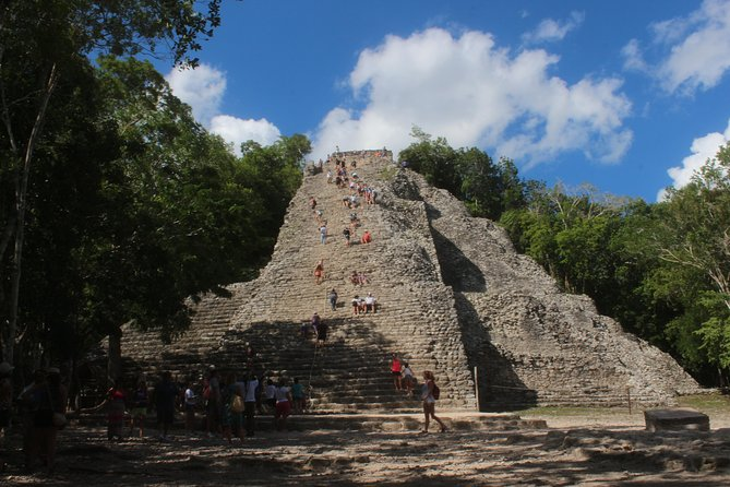 Coba and Chichen Itza with Cenote Ik Kil