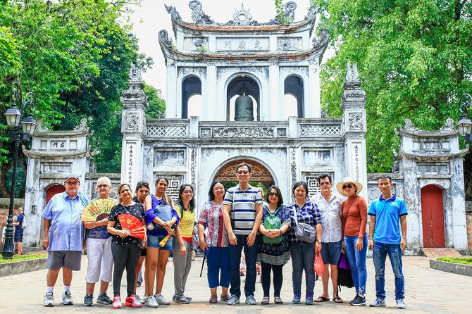 Small Group: Half-day Hanoi City Tour with Temple, Mausoleum,...