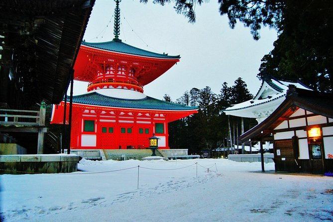 Mt. Koya temple lodging, Buddhist training experience 2Days*H.I.S. Quality Tour*
