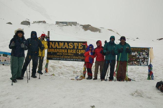 Annapurna base camp treks