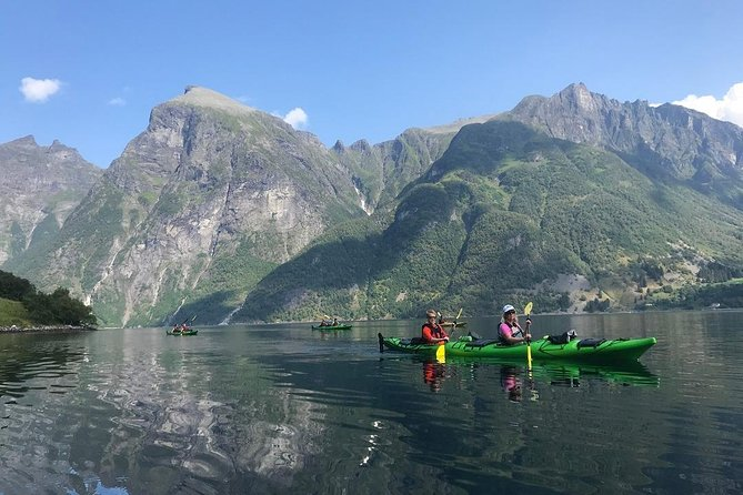 1 Day Hidden Fjord Kayaking Trip