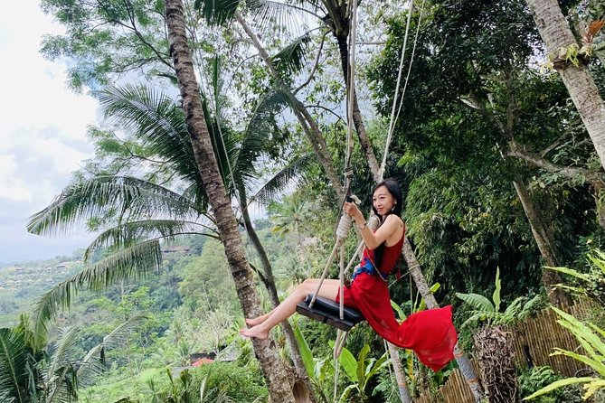 Ubud : Sightseeing & Jungle Swing - By En Dag Bali
